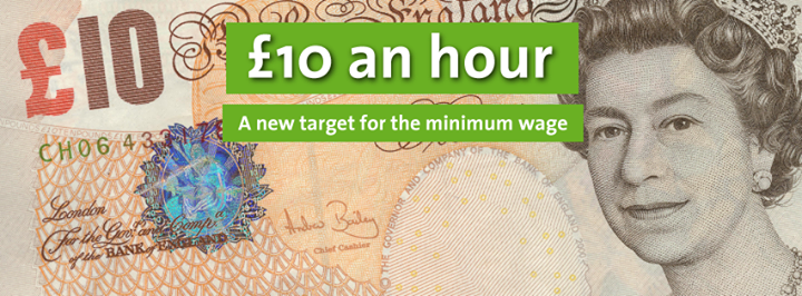 Living wage £10 an hour